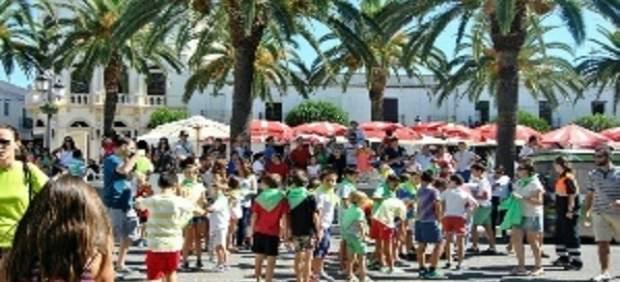 Encuentro lúdico-deportivo de la Diputación de Badajoz