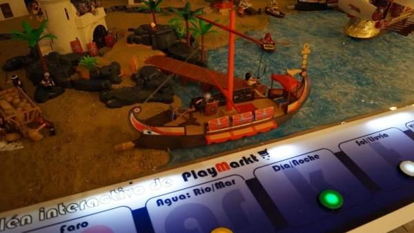 El visitante puede interactuar con más de 30 escenas.