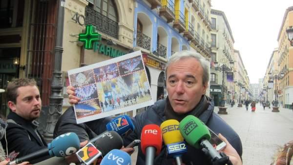 El PP pide mejorar la iluminación navideña en Zaragoza