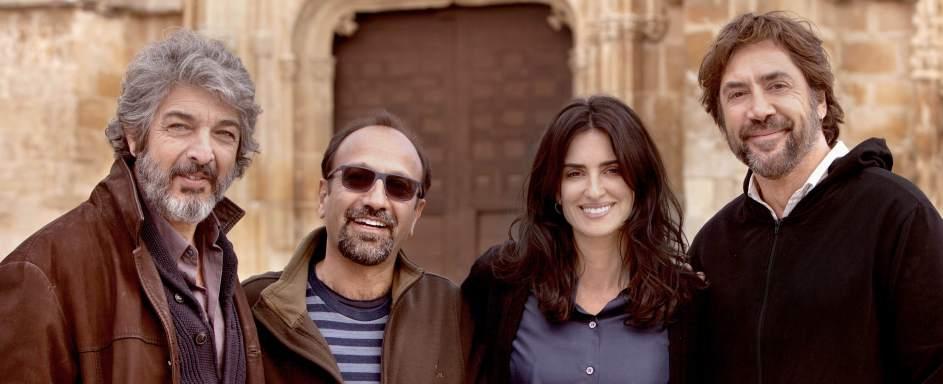 Finaliza el rodaje del nuevo filme de Farhadi, con Penélope Cruz, Bardem y Darín en el reparto