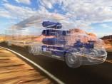 Camión de pila de combustible