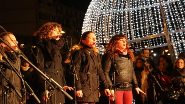 Animación para compras navideñas en Bilbao
