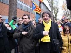 El voto delegado de Comín abre la puerta a investir posiblemente a Puigdemont