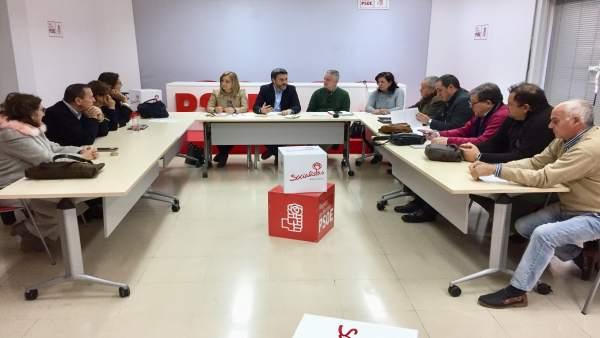 IMAGEN DELA REUNIÓN PSOE