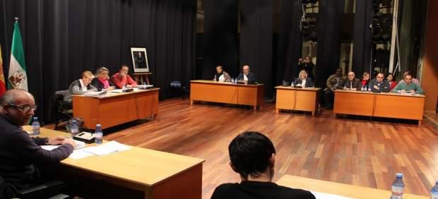 Pleno en el Ayuntamiento de Almuñécar