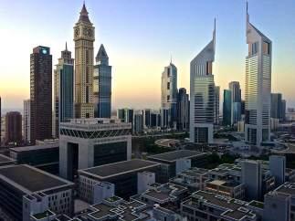 En Dubái solo hay rascacielos