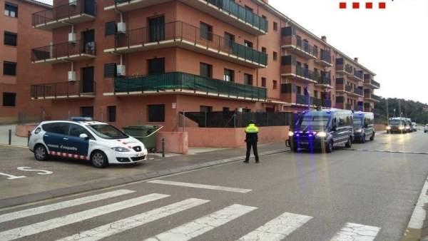 Mossos d'Esquadra operación tráfico drogas La Jonquera