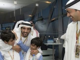 Principalmente árabes y locales viven en Dubái