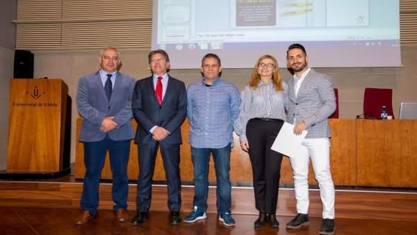 Entrega de los premios de la Fundación Asisa-UdL