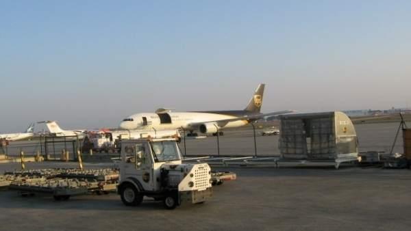 Pistas de carga del Aeropuerto de Valencia
