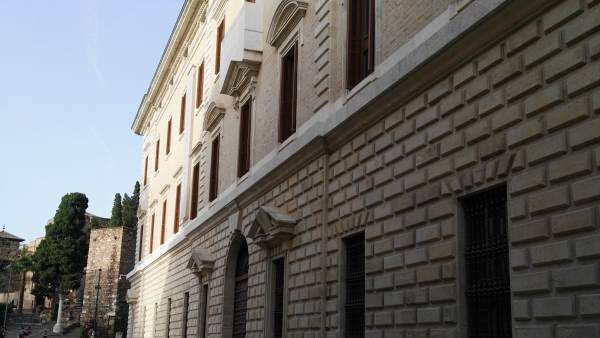 Museo de Málaga. Aduana. Lateral