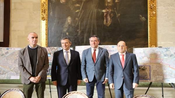 Responsables municipales, de Endesa y REE presentan el convenio de actuación