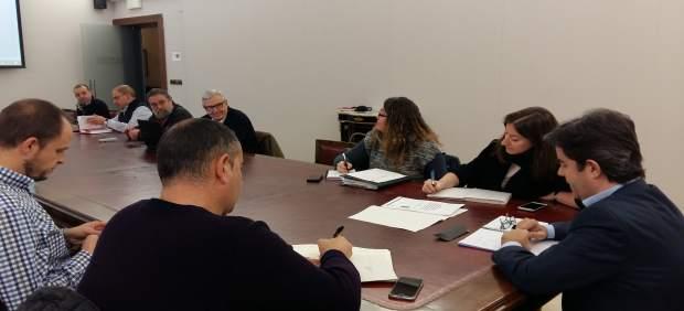 Reunión para analizar el abastecimiento de agua a Huesca y su entorno