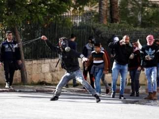 PROTESTAS Y DISTURBIOS EN PALESTINA