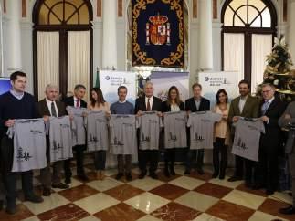 Presentación de la Zurich Maratón Málaga
