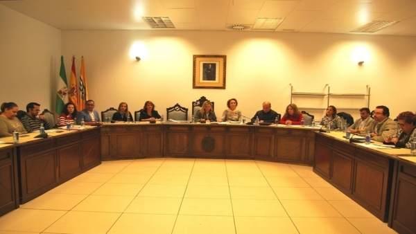 Pleno del Ayuntamiento de Isla Cristina