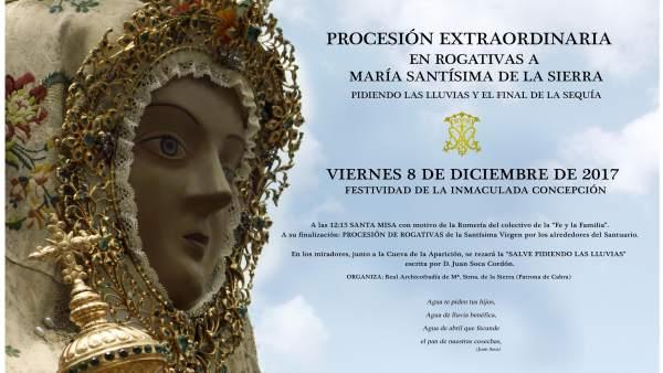 Cartel de la procesión