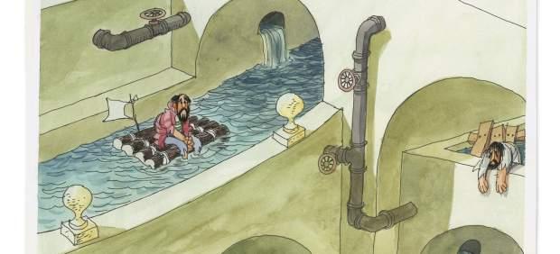 El agua, protagonista absoluta de una exposición organizada en Murcia por el Museo ABC