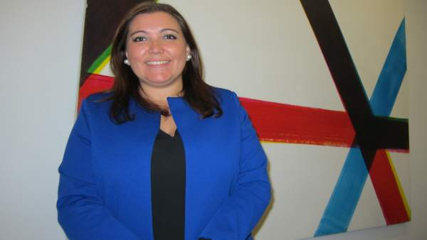 La vicepresidenta segunda de la Diputación de Córdoba, Ana Carrillo