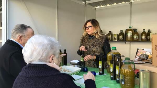 Aceite de oliva producido en Huércal-Overa, en 'Sabores Almería' con Óleo Jarico
