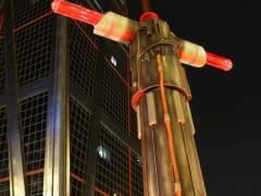 Una exposición trae a Madrid ocho espadas láser gigantes