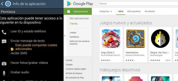 Apps y permisos