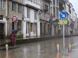 Temporal en Galicia