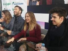 Los concursantes de OT 2017 revolucionan Madrid, Barcelona y Valencia en su primera firma de discos
