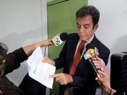 Nasralla presenta impugnaciones ante el Tribunal Supremo Electoral