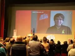 """Puigdemont defiende la independencia como """"la mejor política de bienestar"""""""