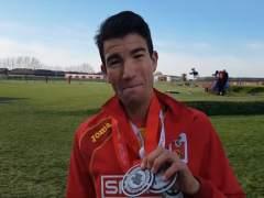 Adel Mechaal y el equipo masculino, subcampeones de Europa de cross; España, cinco medallas