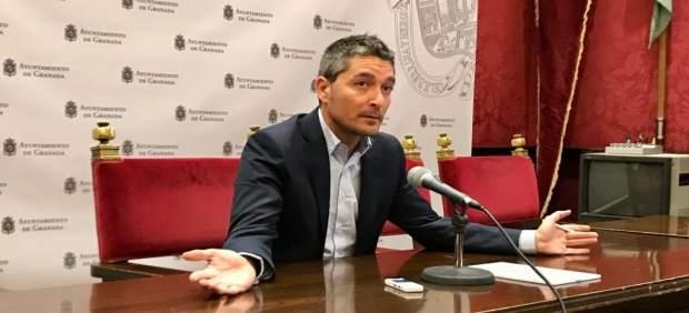 Portavoz de Cs en el Ayuntamiento de Granada, Manuel Olivares