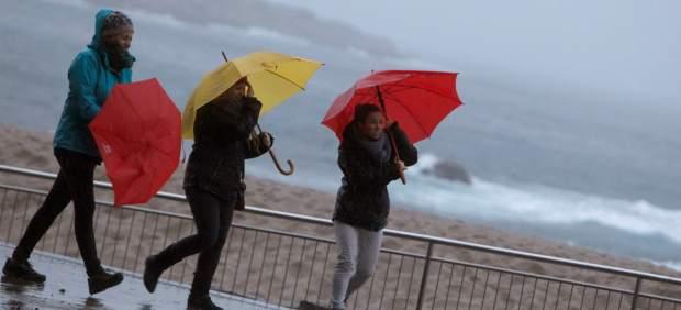 El temporal Ana, en A Coruña