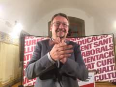 """Domènech no pactará con una ERC de la unilateralidad ni con un PSC """"que pacta con el PP"""""""