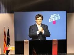 """Puigdemont, sobre Sijena: """"Usando una policía militarizada"""""""