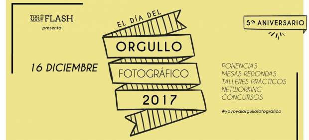 Cartel de El Día de Orgullo Fotográfico