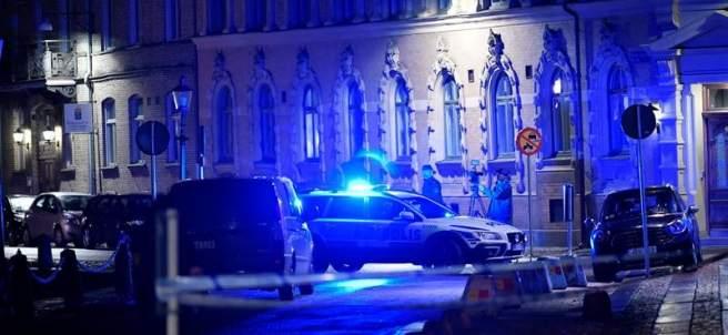 Ataque a una sinagoga en Suecia