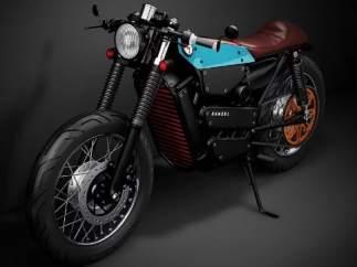Honda diseña una moto eléctrica con un elegante estilo clásico