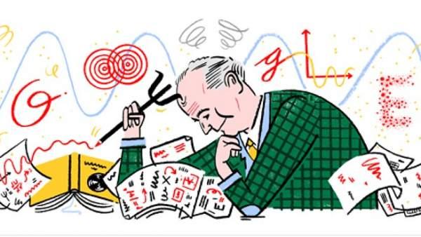 Doodle de Google dedicado a Max Born