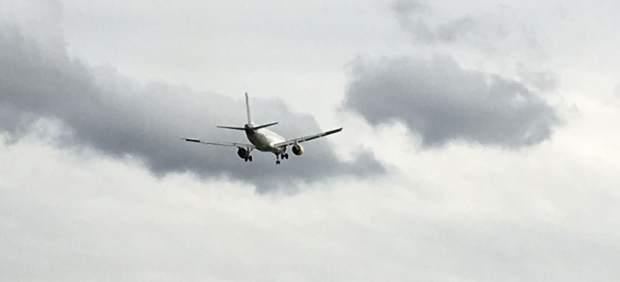 Un avión en una imagen de archivo
