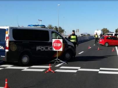 Control de la Policia Nacional