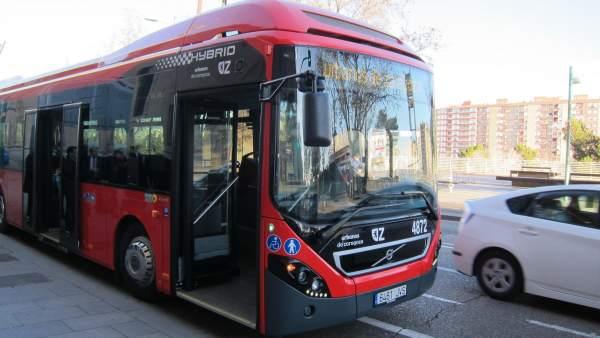 Autobús hídrido de Zaragoza