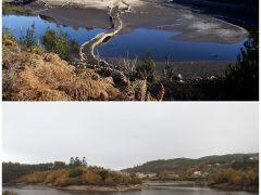 Las últimas lluvias no mejoran el nivel de los embalses