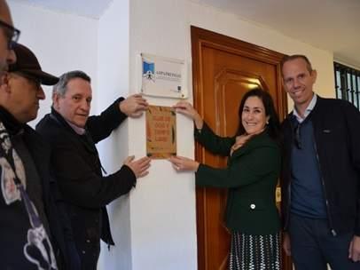 Inauguración del nuevo centro de ocio de Aspapronias.