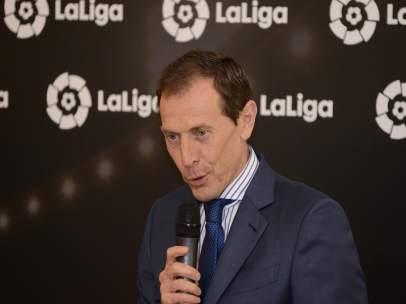 Emilio Butragueño, director de relaciones institucionales del Real Madrid