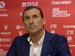 Óscar Arias, director deportivo del Sevilla