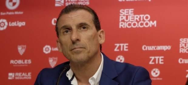 Óscar Arias, despedido del Sevilla tras la debacle en la Copa del Rey