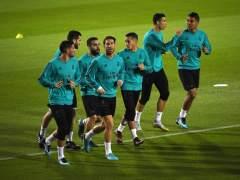 Bale y Varane se entrenan con normalidad en los Emiratos