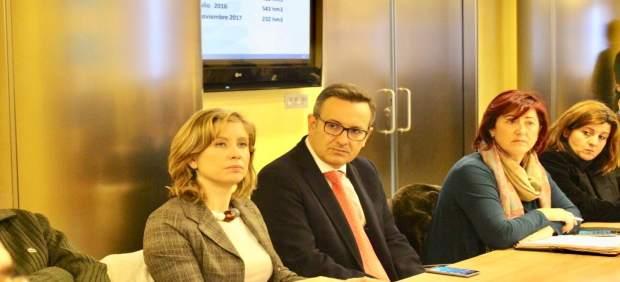 Diego Conesa, en la reunión de la CHS
