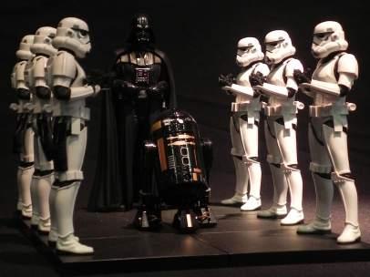 Una de las réplicas de Darth Vader que pueden verse en 'Expo Wars'